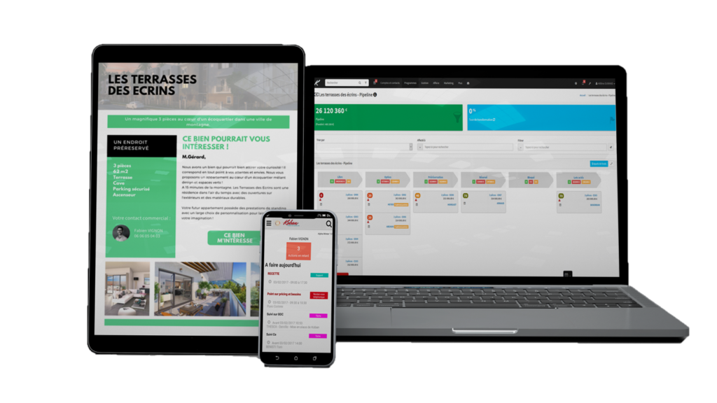 Présentation de notre logiciel promoteur Immobilier Koban